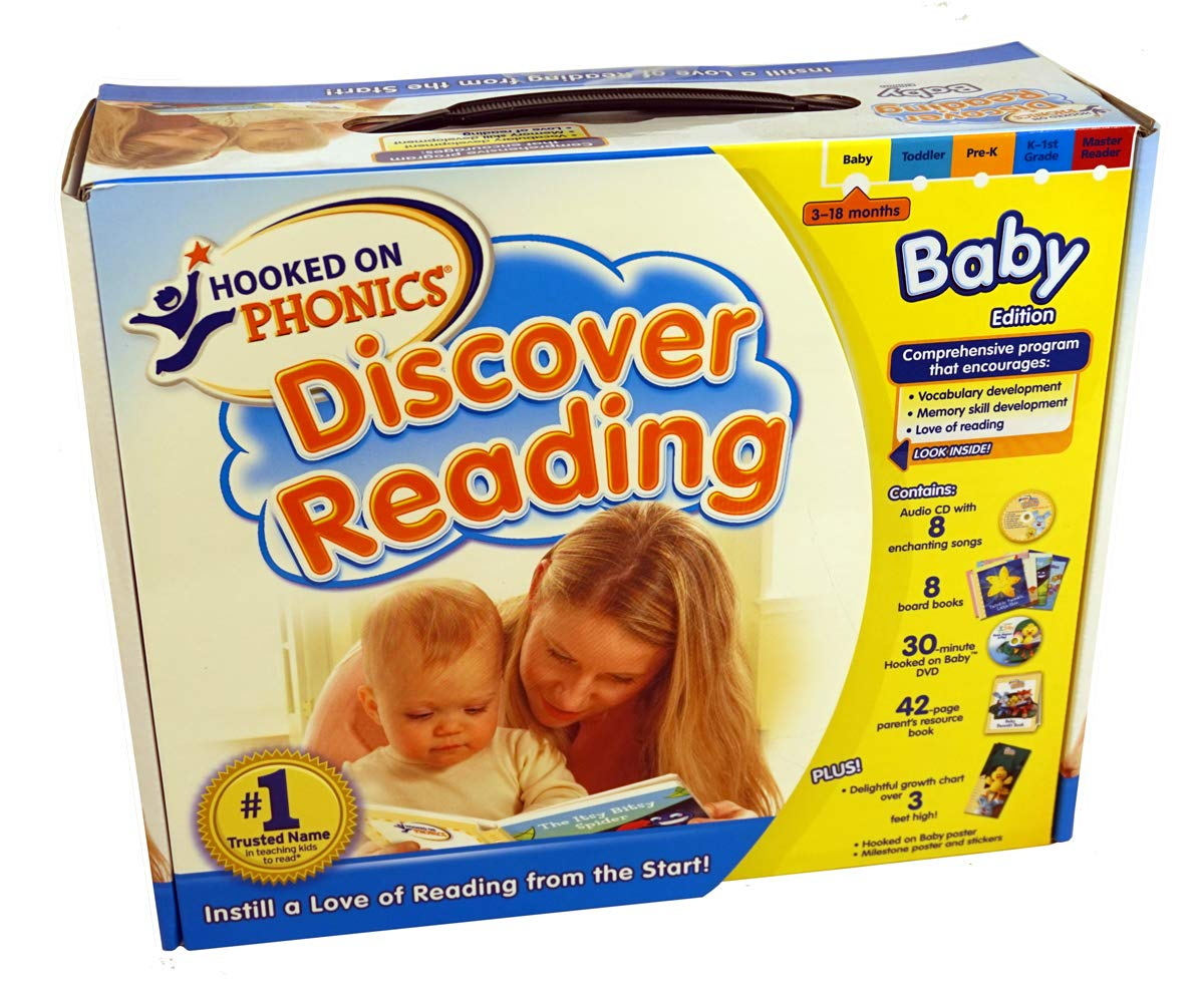 Hooked on Phonics: Discover Reading - Baby Edition by Hooked on Phonics (Image #1)