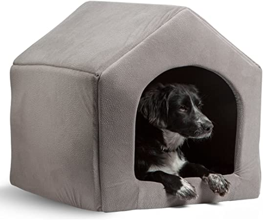 PAWZ Road 2-in-1 Dog House Cat Bed Pet Sofa-Waterproof and Skid-Free Base