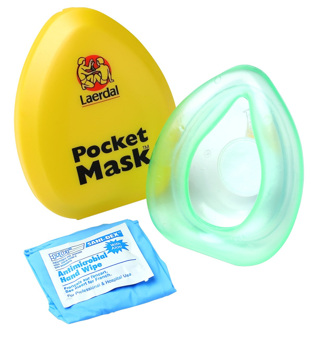 Laerdal Taschenmaske mit Ventil und Filter