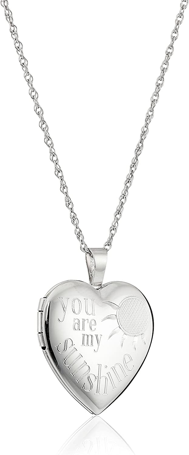 Amazon Collection Sterling Silver Heart