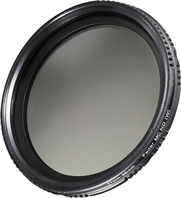 ND400 Walimex Pro ND-Fader verg/ütet 62 mm ND2