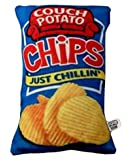 Potato Chips Novelty Food Throw Pillows Lifelike Designs - Easy to Clean