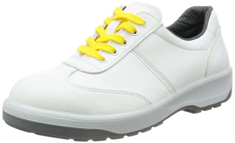 [エンゼル] ポリウレタン2層底安全靴 合皮スニ-カ- 静電タイプ(ヒモ) ANAS3051B ANシリーズ 6B032 B01LYCWHI0 26.5 cm ホワイト