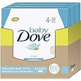 Baby Dove Toallitas Hidratación Profunda - pack de 3: Total 600 toallitas