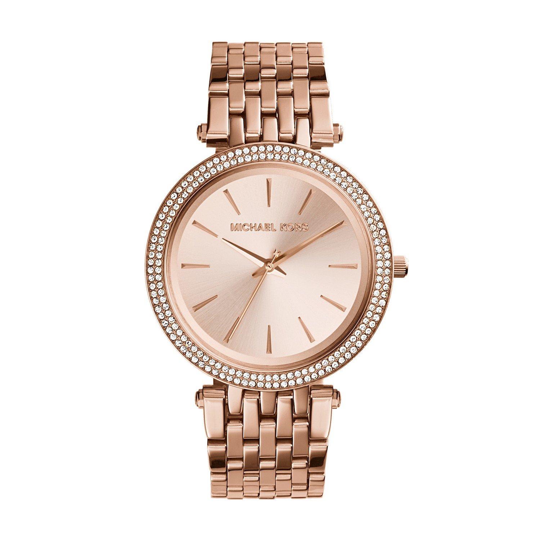 Michael Kors Women's Darci Rose Gold-Tone Watch MK3192 by Michael Kors