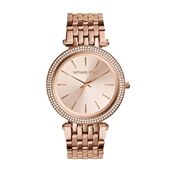 5a2dcdee78090 Amazon.com  Michael Kors Women s Darci Rose Gold-Tone Watch MK3192  Michael  Kors  Watches