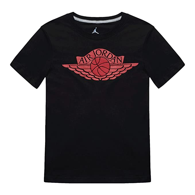 d7afeb9a4a6e67 Amazon.com  Jordan Air Boys Youth Fly Wings Cotton Basketball Tee T ...
