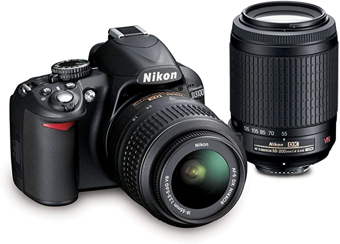 Amazon.com: Nikon D3100 Cámara réflex digital de 14,2 ...