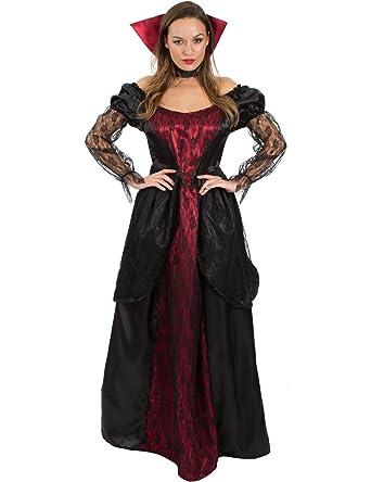 Ladies Deluxe Victorian Vampiress Hat Halloween Vampire Fancy Dress Accessory