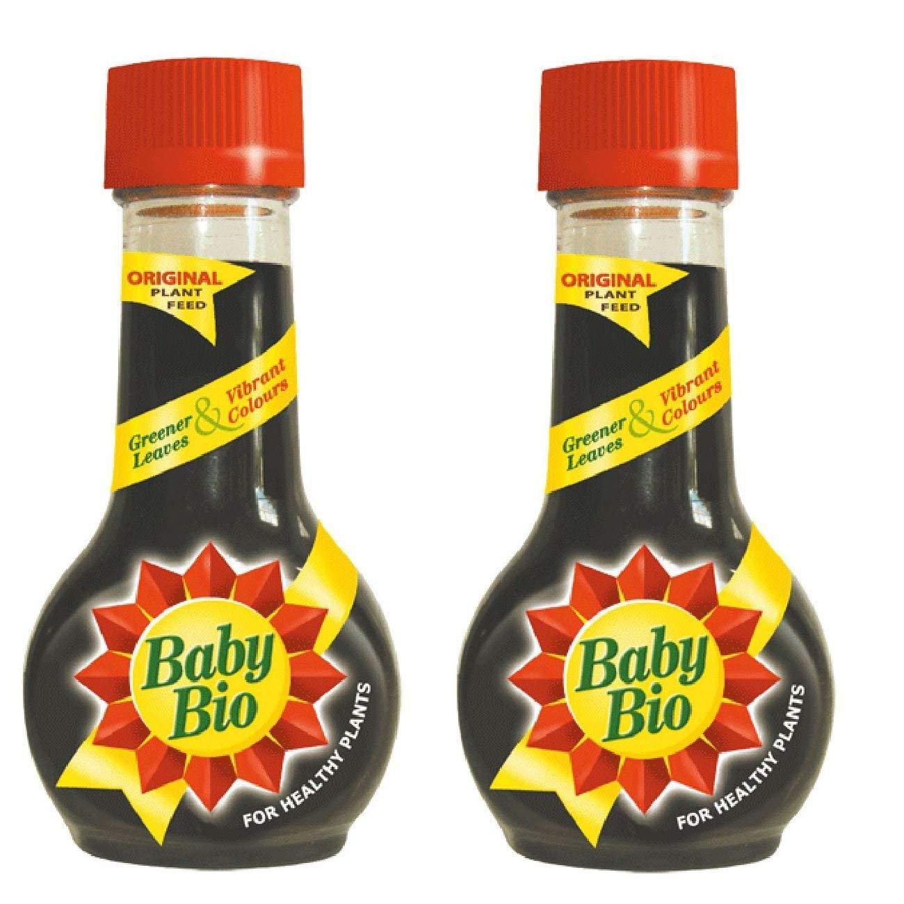 2 X Baby Bio Original House Plant Food Feed Fertilizer 175ml bayer