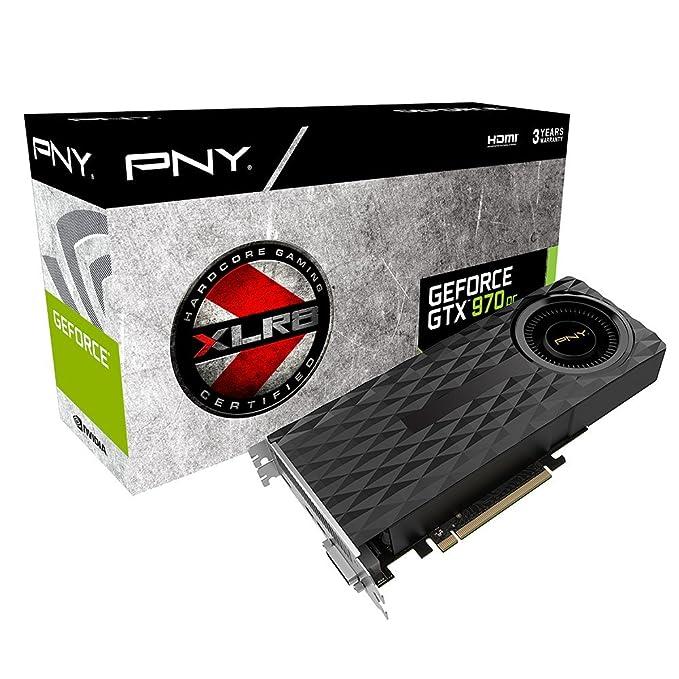 nVIDIA GeForce GTX 970 - Tarjeta gráfica de 4 GB GDDR5: Amazon.es: Informática