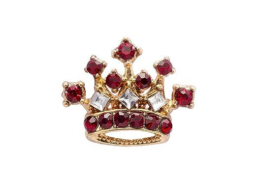 Knighthood - Broche de Solapa para Hombre, diseño de Corona de Oro ...