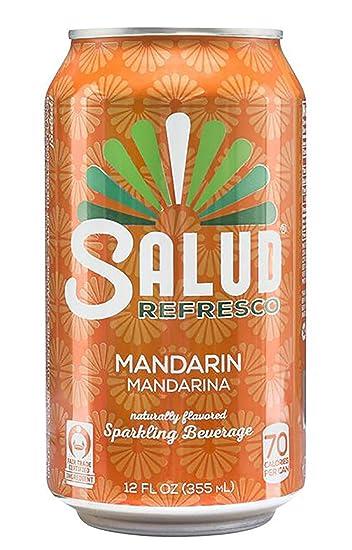 amazon com salud refresco mandarin naturally flavored rh amazon com