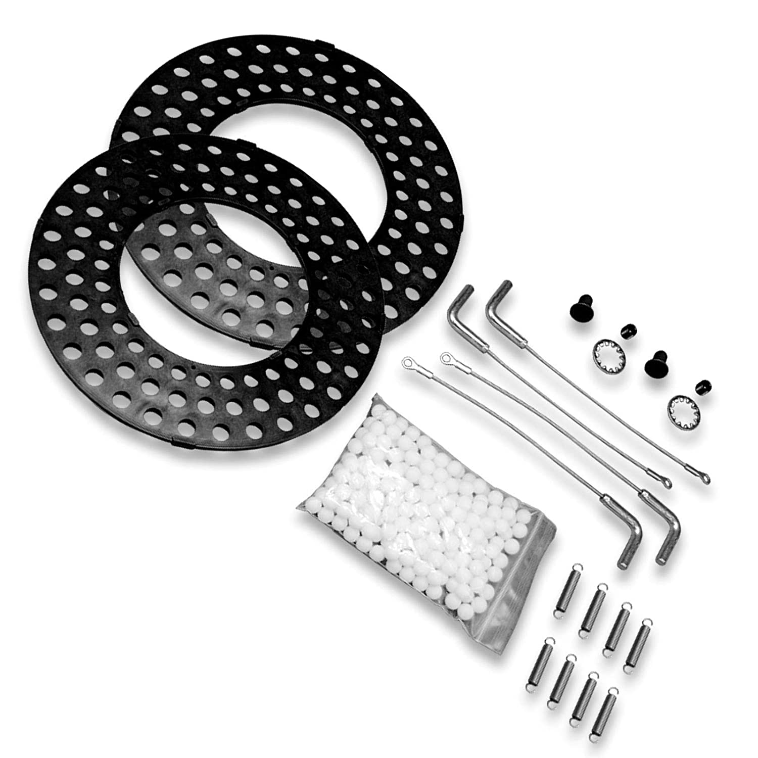 Heavy Duty Truck Alignment Rack Turn Plate//Table Repair Kit Stainless Steel Hardware with Lock Pins