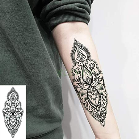 adgkitb 5 Piezas Impermeable Tatuaje Temporal Pegatina Lindo KT ...