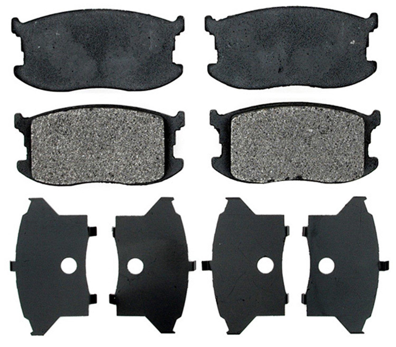 ACDelco 17D297M Professional Semi-Metallic Front Disc Brake Pad Set