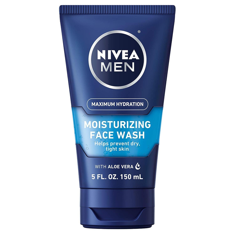 NIVEA Men Maximum Hydration Moisturizing Face Wash - Helps Prevent Dry Tight Skin - 5 fl. oz. Tube