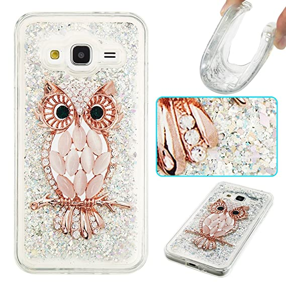 huge selection of 74370 88c68 Galaxy J3 Case, Galaxy Amp Prime Case, Galaxy Express Prime Case, Ranyi  [Liquid Glitter Series] Floating Liquid TPU Case for Samsung Galaxy J3 /  Amp ...