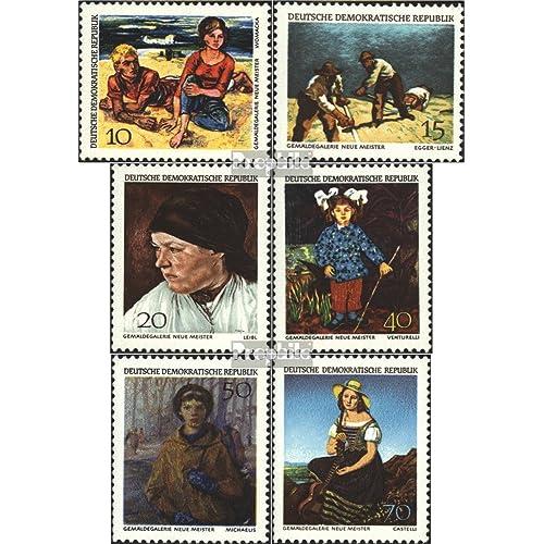 DDR 1393-1398 (complète.Problème) 1968 galerie de peinture (Timbres pour les collectionneurs)