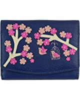 Mala Leather Saki Tab Purse / Ladies Wallet