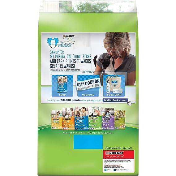 Amazon.com : Purina Cat Chow Indoor Adult Dry Cat Food - (12) 18 oz. Boxes : Dry Pet Food : Pet Supplies