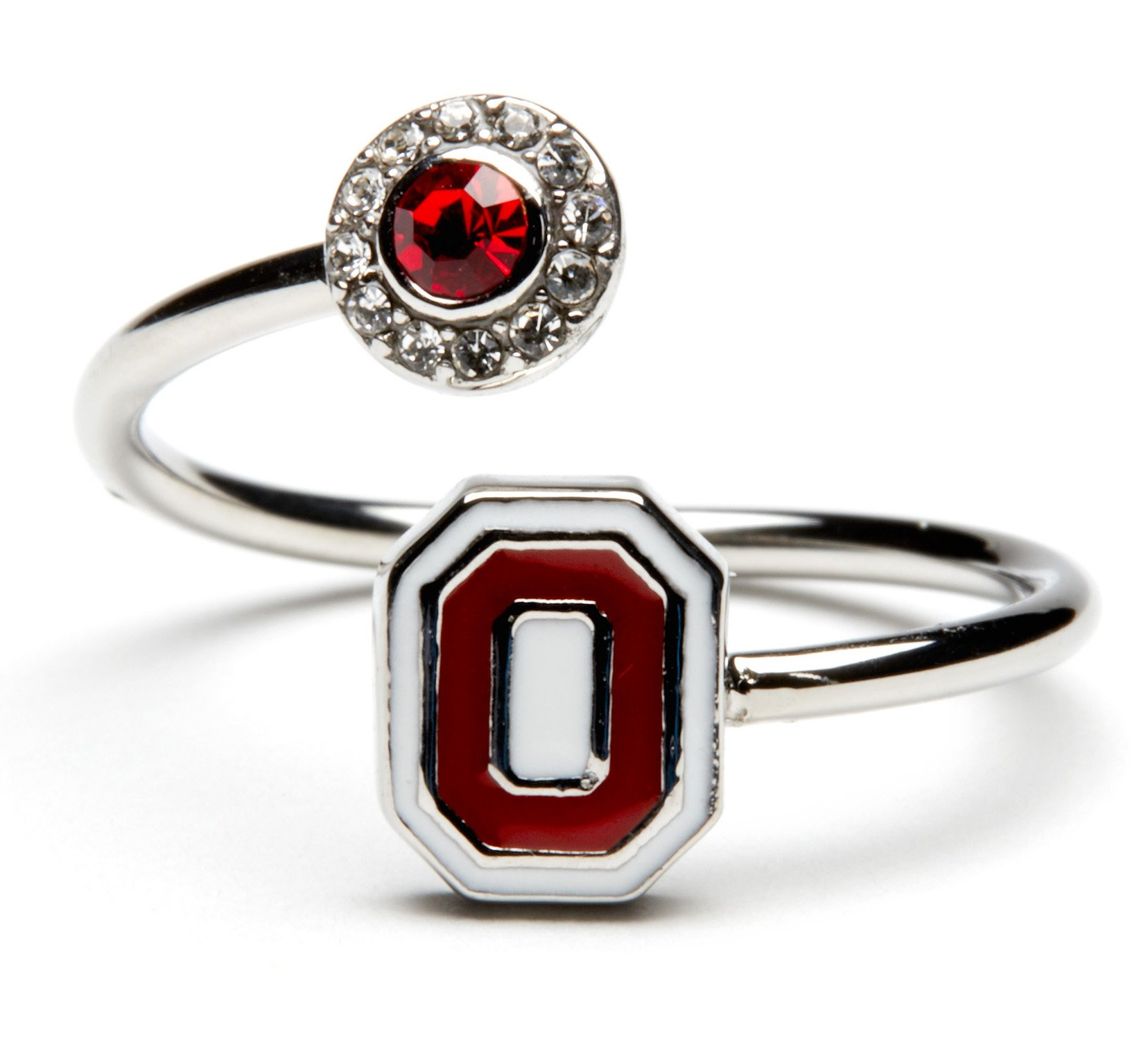 Ohio State Ring | Scarlet and White O Logo | Buckeyes Gift | OSU Jewelry | Ohio State Jewelry | Buckeyes Jewelry | Buckeyes Ring | OSU Jewelry | Ohio State University Jewelry