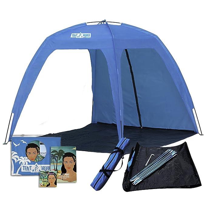 7 opinioni per Tenda da Spiaggia Aperta XL Neptune: Ombra per Tutta la Famiglia! Tenda Parasole