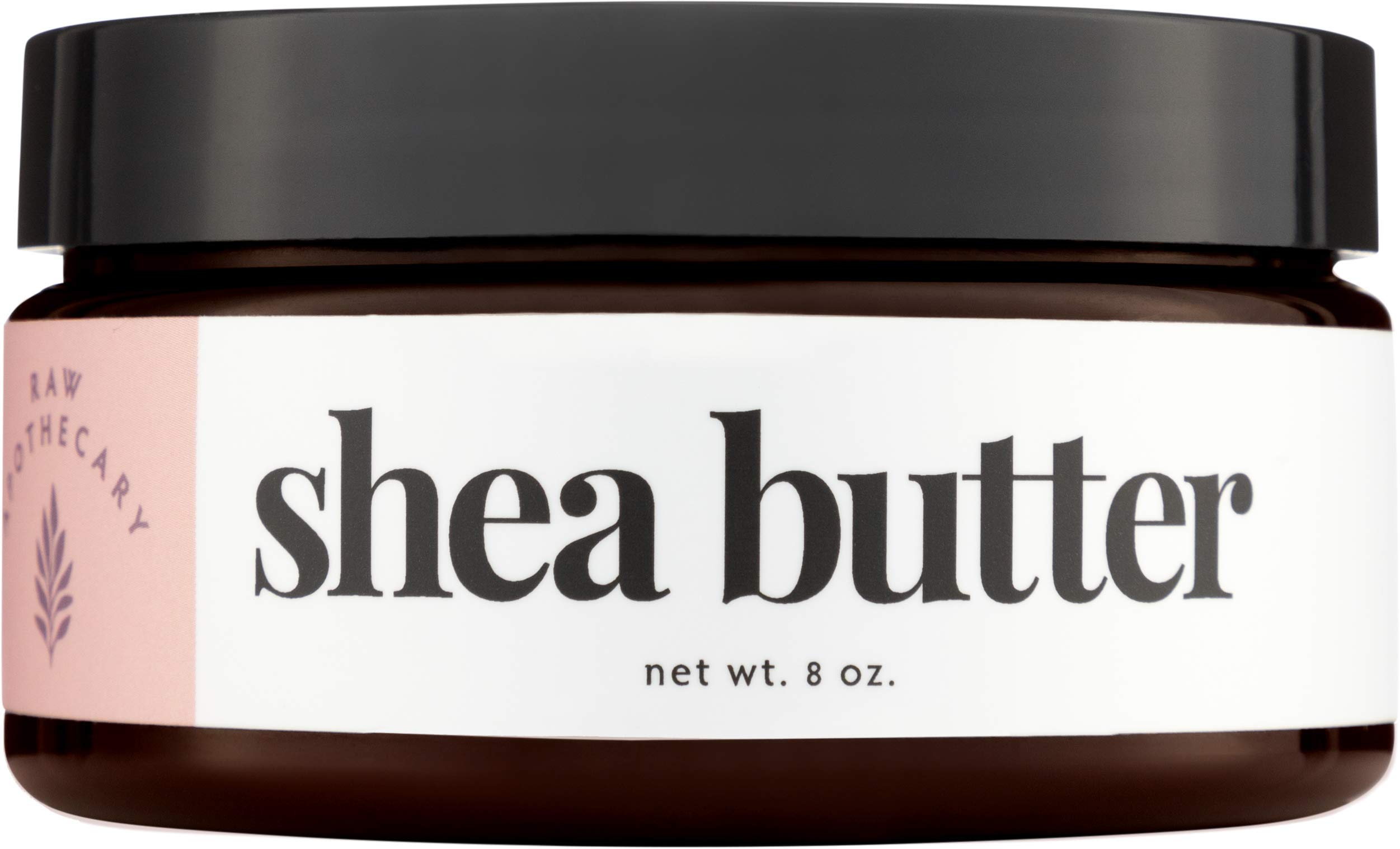 Ivory Shea Butter, 100% All Natural by Raw Apothecary- Top-Grade, Unrefined and Additive free, Ivory Butter (8 oz.)
