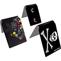Stray Decor (Black) Pack de 3 Fundas para Autobús Transporte/Billetes de Autobús