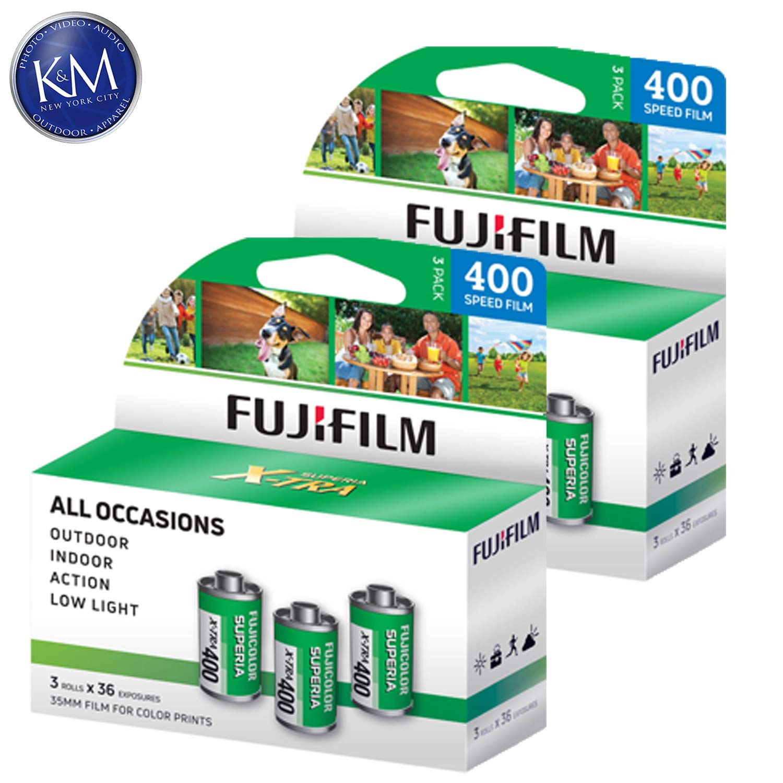 Fujifilm Fujicolor Superia X-TRA 400 35mm Color Negative Film - 36 Exposure (6 Pack)