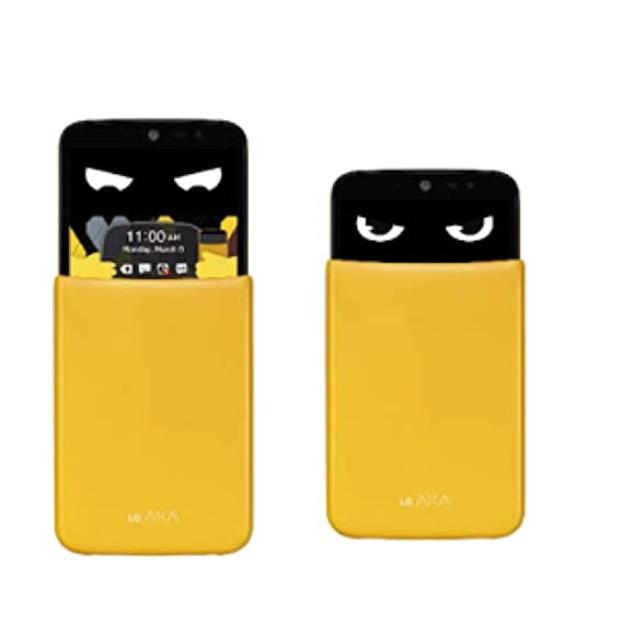 LG AKA H788 Mobile Phone Yellow