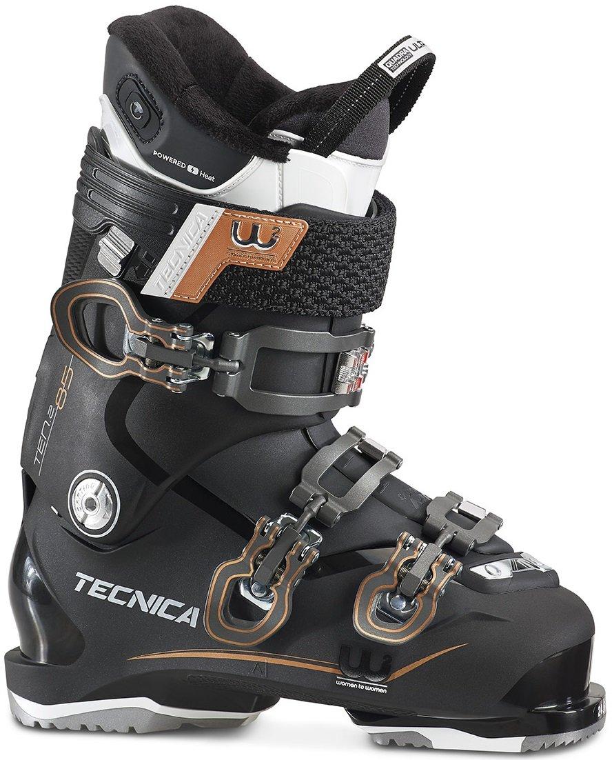 Moon Boot Tecnica - Ten.2 85 C.A. Heat Damen Skischuh (schwarz/Bronze) - 27,0 - UK 8