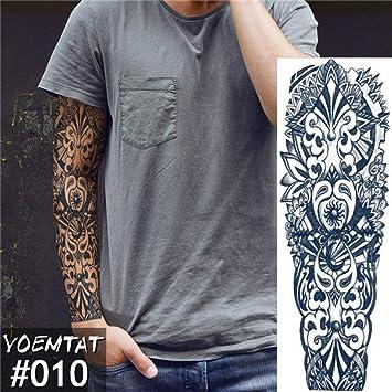 Brazo grande manga tatuaje halo ángel impermeable: Amazon.es: Belleza