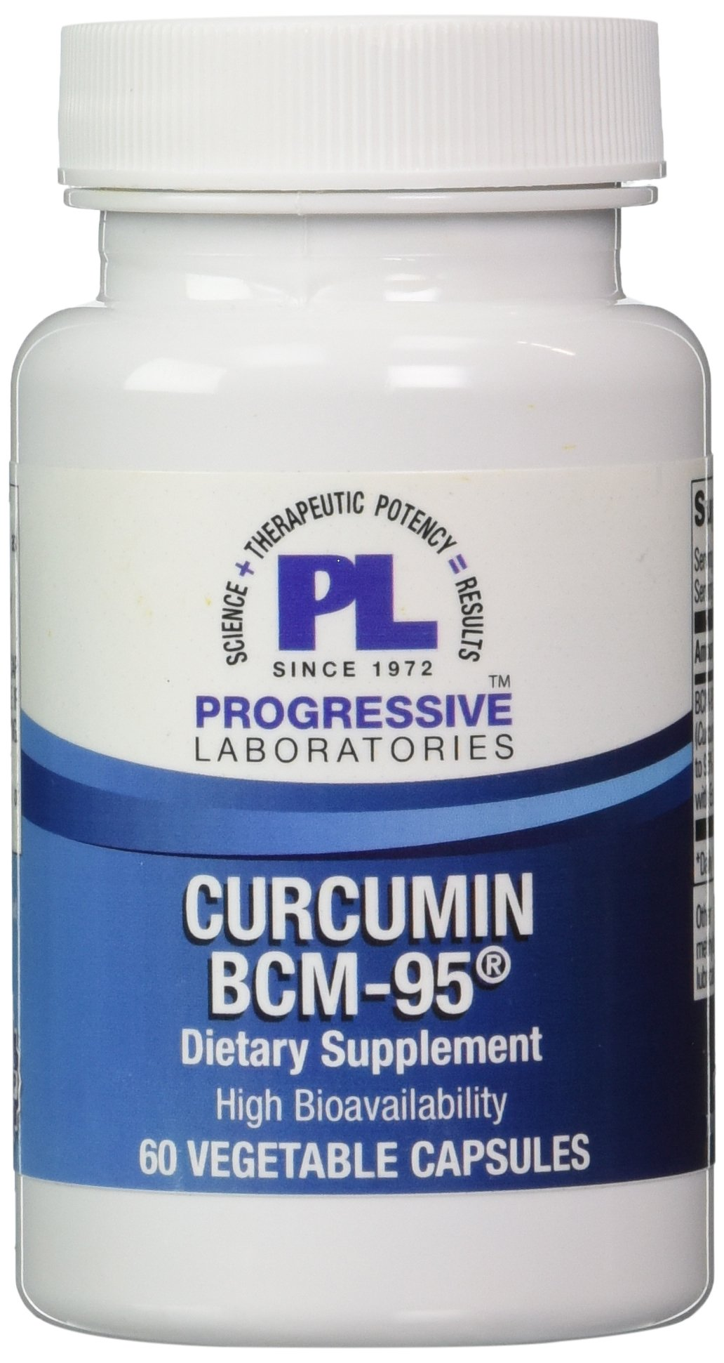 Progressive Labs - Curcumin BCM-95 60 vcaps [Health and Beauty]