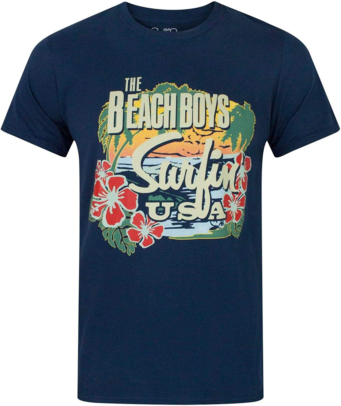 Vanilla Underground Beach Boys USA Tropical Men's T-Shirt