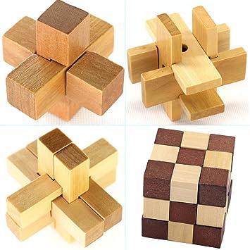 Holzspielzeug 3D Puzzle Block Holzspielzeug