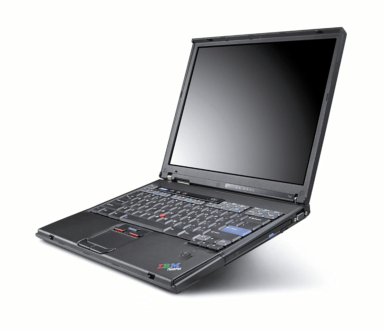 REFURBISHED LENOVO IBM Thinkpad T42, 1.70GHz, 1GB Ram, 40GB hard drive,  DVD/CDRW WiFi Laptop: Amazon.co.uk: Computers & Accessories