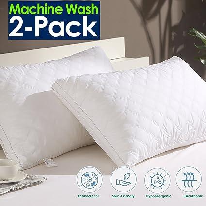 Amazon Com Jepson Pillows For Sleeping Down Alternative Soft Hotel