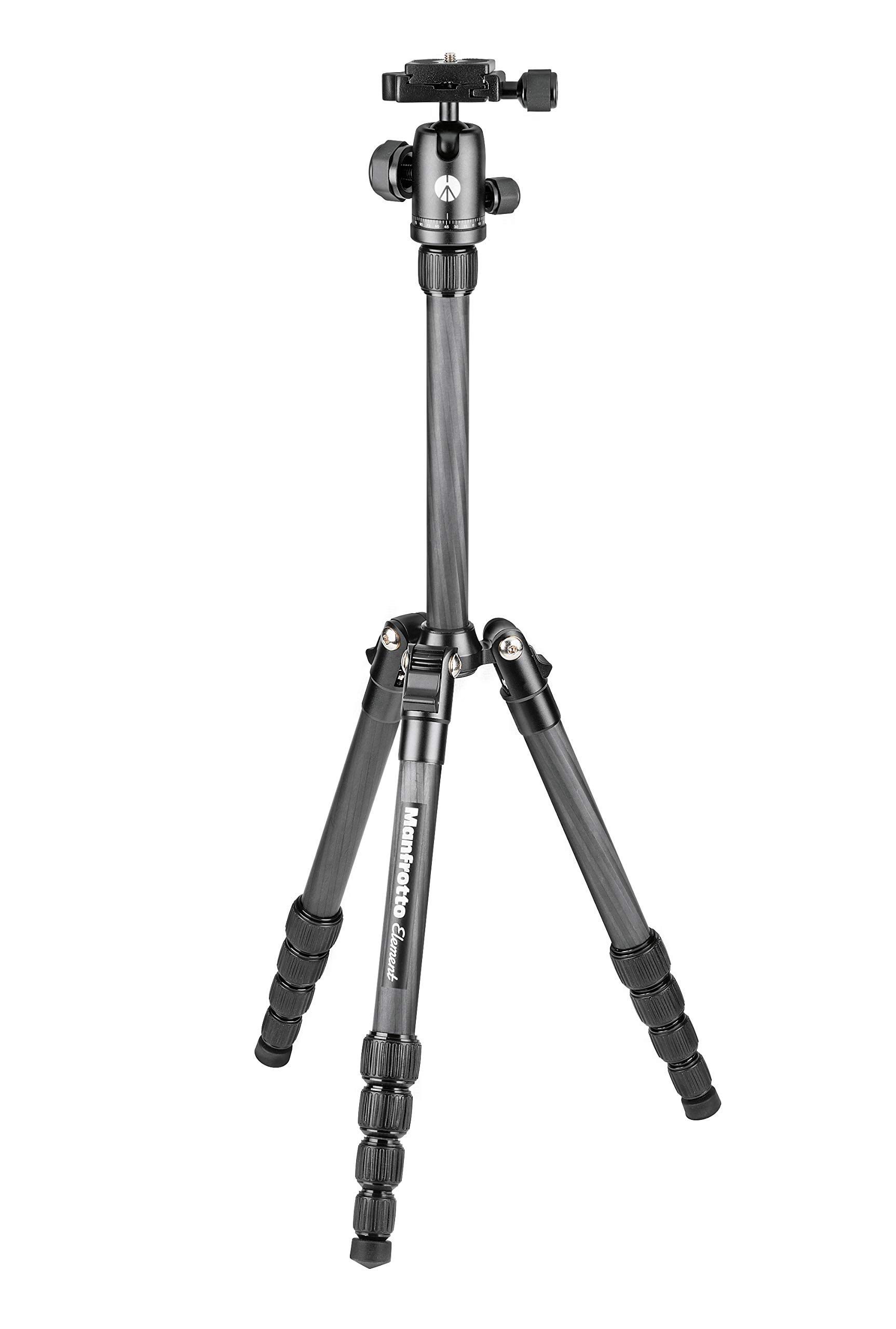 Manfrotto MKELES5CF-BH Element Traveler Carbon Fiber Tripod.