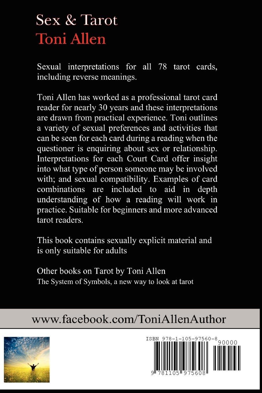 Sex Tarot Toni Allen 9781105975608 Amazon Books