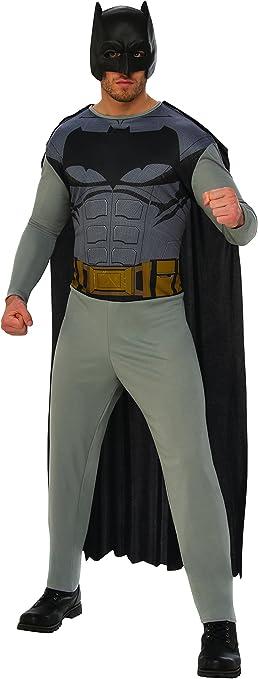 DC Comics - Disfraz de Batman para hombre, Talla XL adulto ...