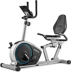 Fitnessfahhrad mit Trainingscomputer f/ür EIN max kompakter /& plazsparender Fahradtrainer Elitum RX150 Heimtrainer Fahrrad f/ür Zuhause Nutzergewicht von 120kg