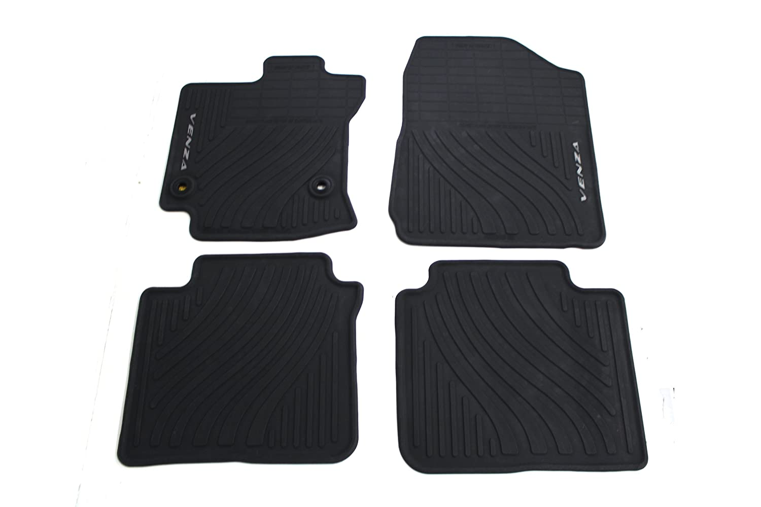 Floor mats princess auto - Amazon Com Genuine Toyota Accessories Pt206 0t130 20 Front And Rear All Weather Floor Mat Black Set Of 4 Automotive