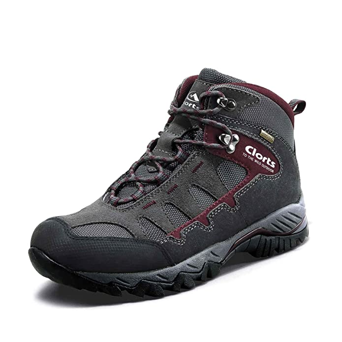 best hiking boots under 100 Waterproof Suede Leather Lightweight Hiking Shoes