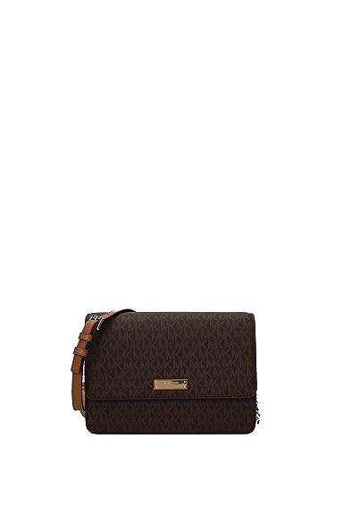 c68f64f294b7 Michael Kors Gusset Ladies Large Twill Crossbody Handbag 32F7GF5C9B ...