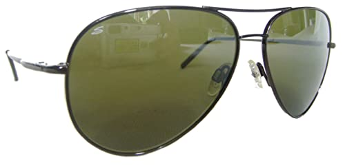a9b303cdcc12 Image Unavailable. Image not available for. Colour: Serengeti 7190 Medium  Aviator 555nm Polarized Photochromic Mens / Womens Sunglasses