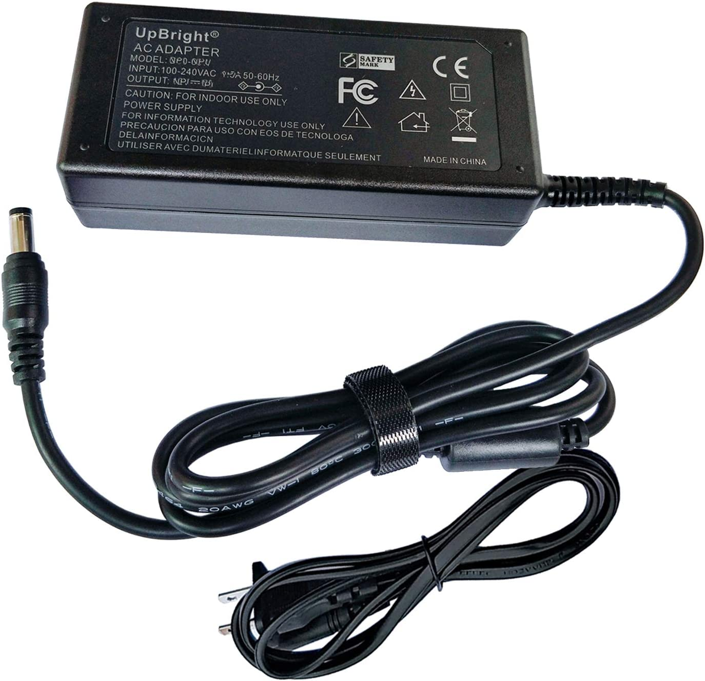 UpBright 12V AC/DC Adapter Compatible with Dell S2319H S2319HN S2319NX 23