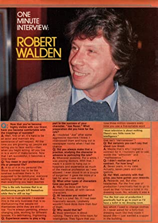 robert walden married