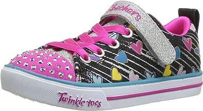 Skechers Sparkle Lite - Heart Sketch Girls Sneakers
