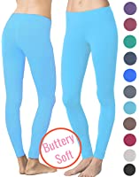 Lush Moda Extra Soft Leggings - Variety of Colors - M (Fits Sizes 0 -12)